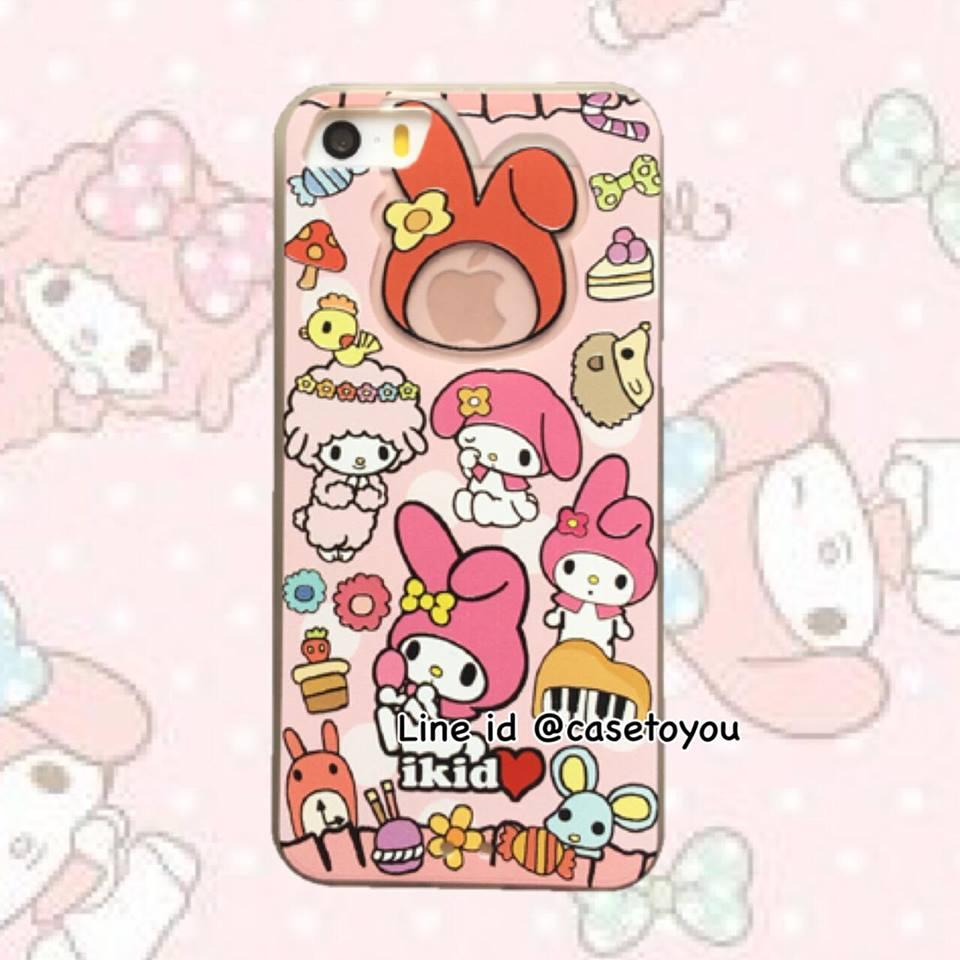เคสพาสเทล My Melody iPhone 5/5S/SE