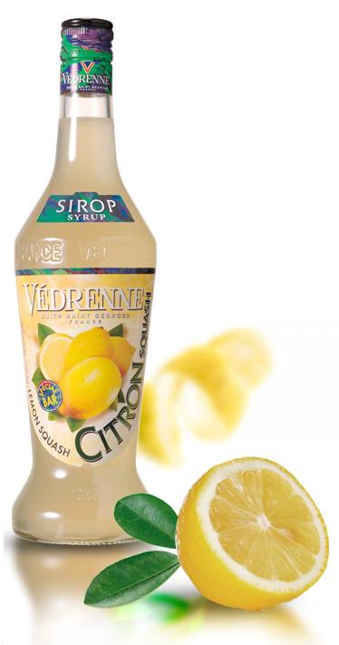 Vedrenne Lemon Squash Syrup