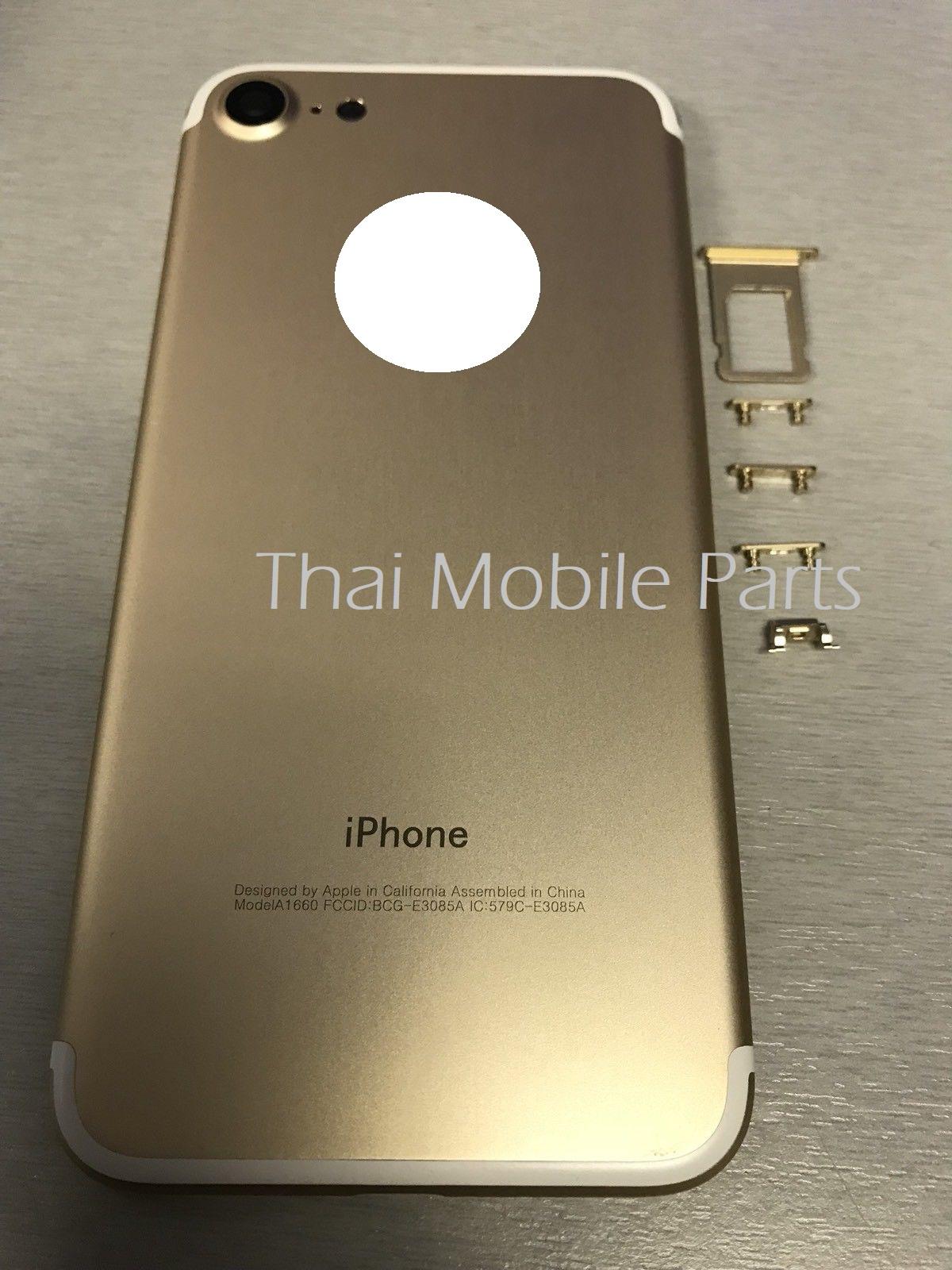 บอดี้ iPhone 7 สีทอง อะไหล่ไอโฟน อะไหล่ iphone