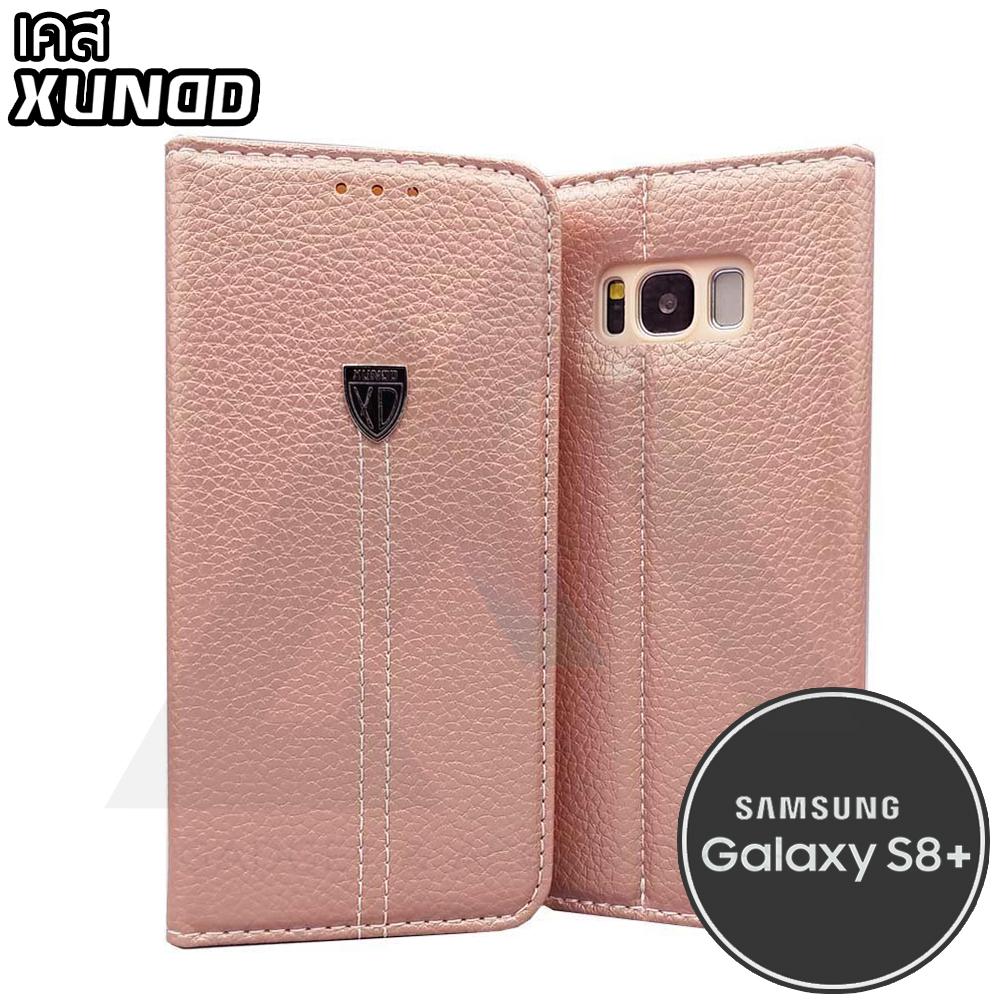 XUNDD Noble Series Wallet - เคสหนัง Samsung Galaxy S8 Plus