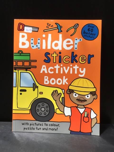 ฺBuilding Sticker Activity Book