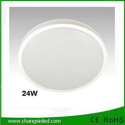โคมไฟติดลอย LED 24W เปลี่ยนแสงได้ 3 แสง