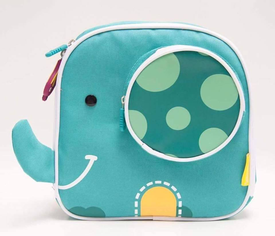 INSULATED LUNCH BAG ( elephant )
