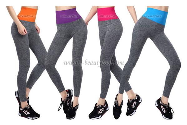 กางเกงออกกำลังกาย ผู้หญิง เล่นฟิตนิส โยคะ ขายาว