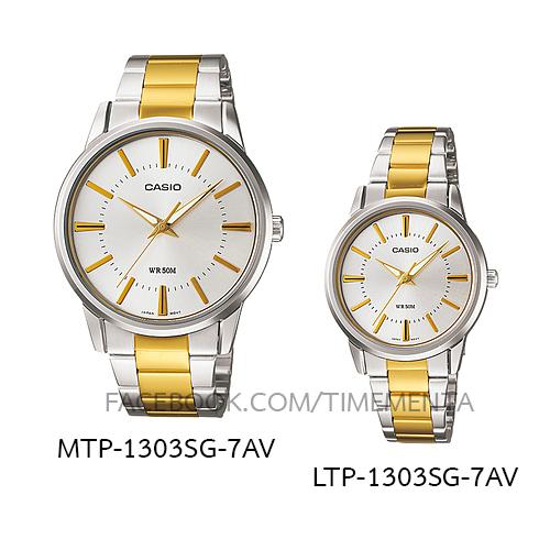 Casio MTP-1303SG-7AV+LTP-1303SG-7AV