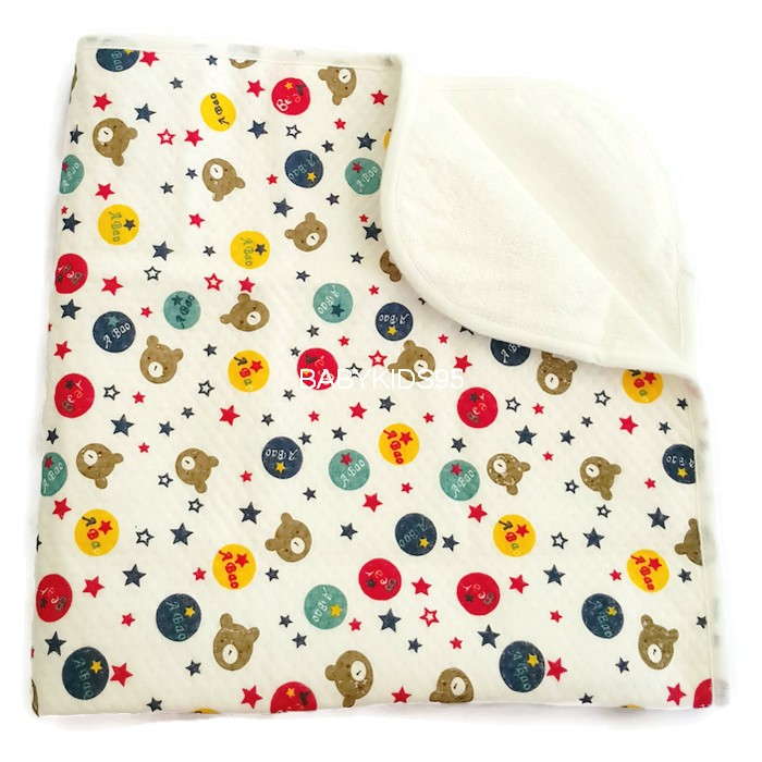 50x70 ซม. ผ้ารองนอนซับฉี่ กันน้ำ ซักได้