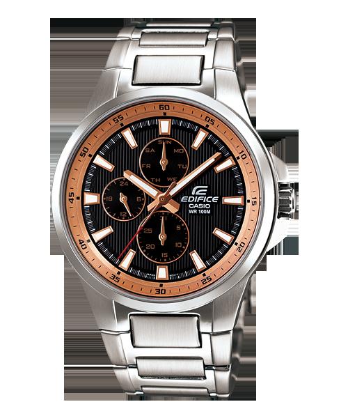 นาฬิกาข้อมือ CASIO EDIFICE MULTI-HAND รุ่น EF-342D-1A5V