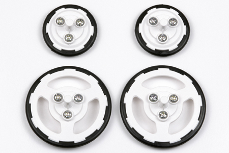 Slim Tire Set – 36mm/55mm Diameter for TAMIYA