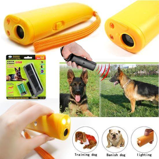 คลื่นเสียงป้องกันสุนัข ULTRASONIC DOG
