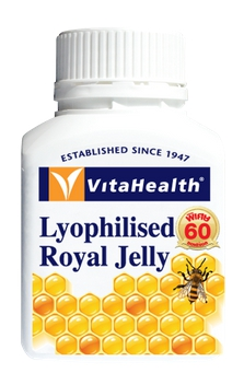 Vitahealth Lyophilised royal jelly 60 softgels