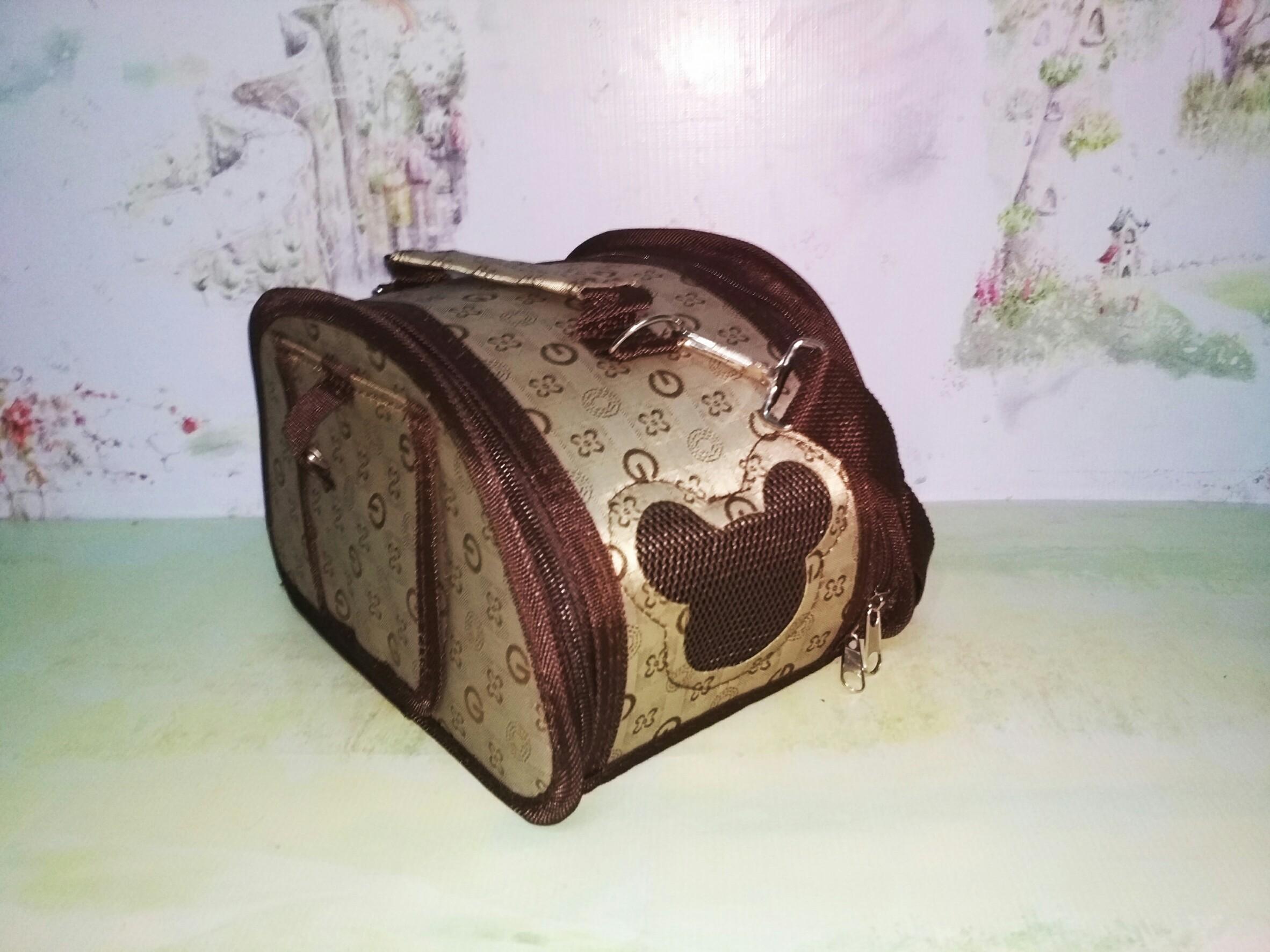 กระเป๋าหน้าต่างมิ้กกี้#1 น้ำตาล G