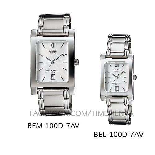 Casio BEM-100D-7AV+BEL-100D-7AV