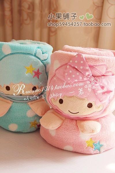ผ้าห่มคลุม little twin stars