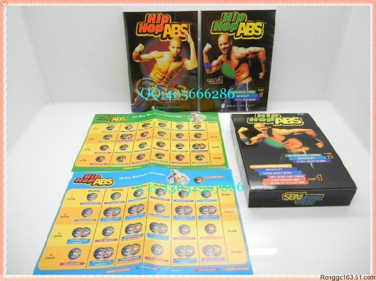 Hip Hop ABS Level 1+2 _ 6 DVD Boxset