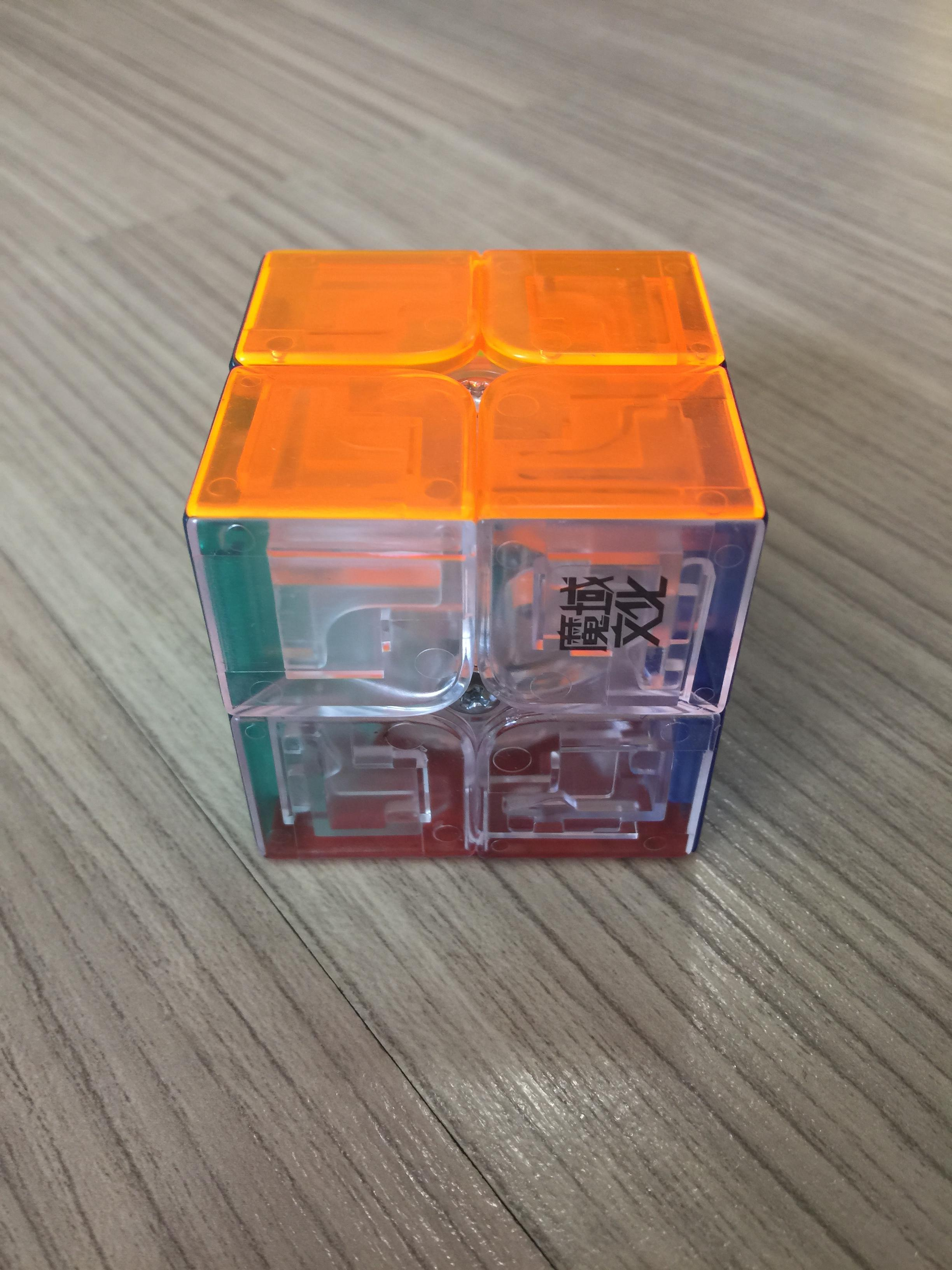 MoYu LingPo 2x2x2 50mm Transparent