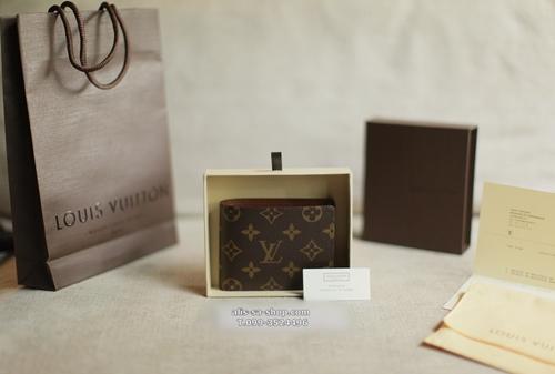 กระเป๋าพับสตางค์ Monogram Multiple Wallet 3 การ์ด