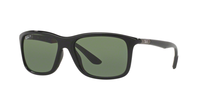 Ray-Ban RB8352F 62199A BLACK Polarized Green