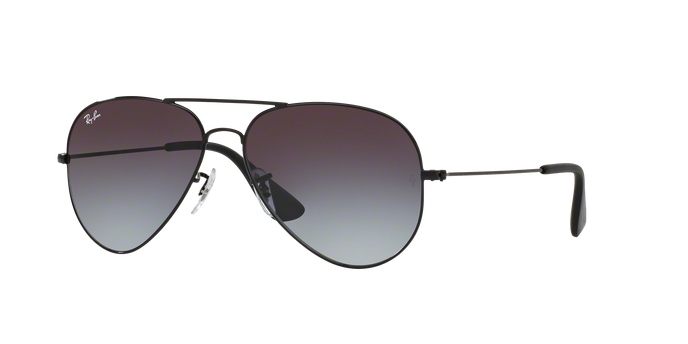 Ray Ban Aviator RB3558 002/8G Black Frame