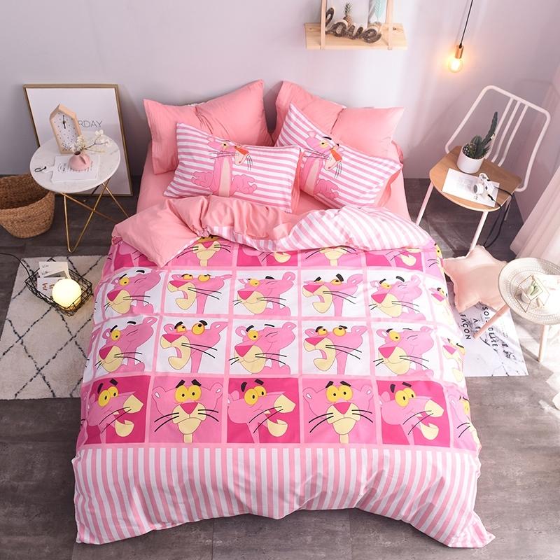 ผ้าปูที่นอน ลายพิ้งค์ แพนเตอร์ Pink Panther