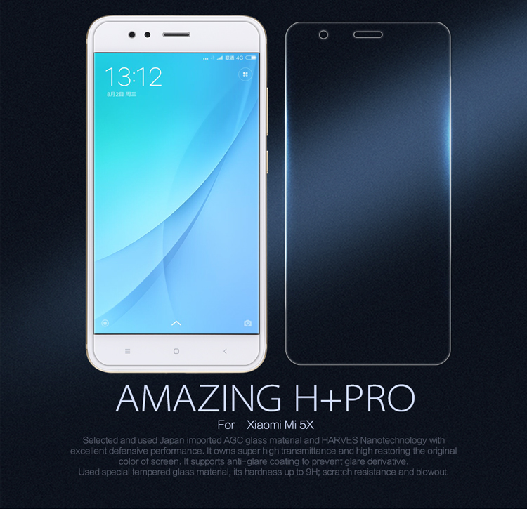 Xiaomi Mi5x / MiA1 ฟิล์มกระจกนิรภัย Nillkin H+ Pro บาง 0.2mm (ไม่เต็มจอ)