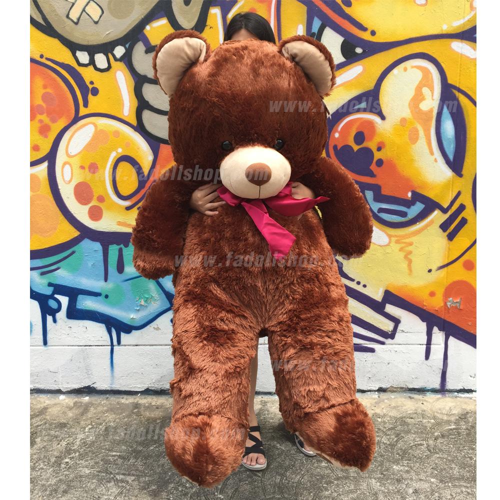 ตุ๊กตาหมีตัวกลมยักษ์ Brown 50 นิ้ว