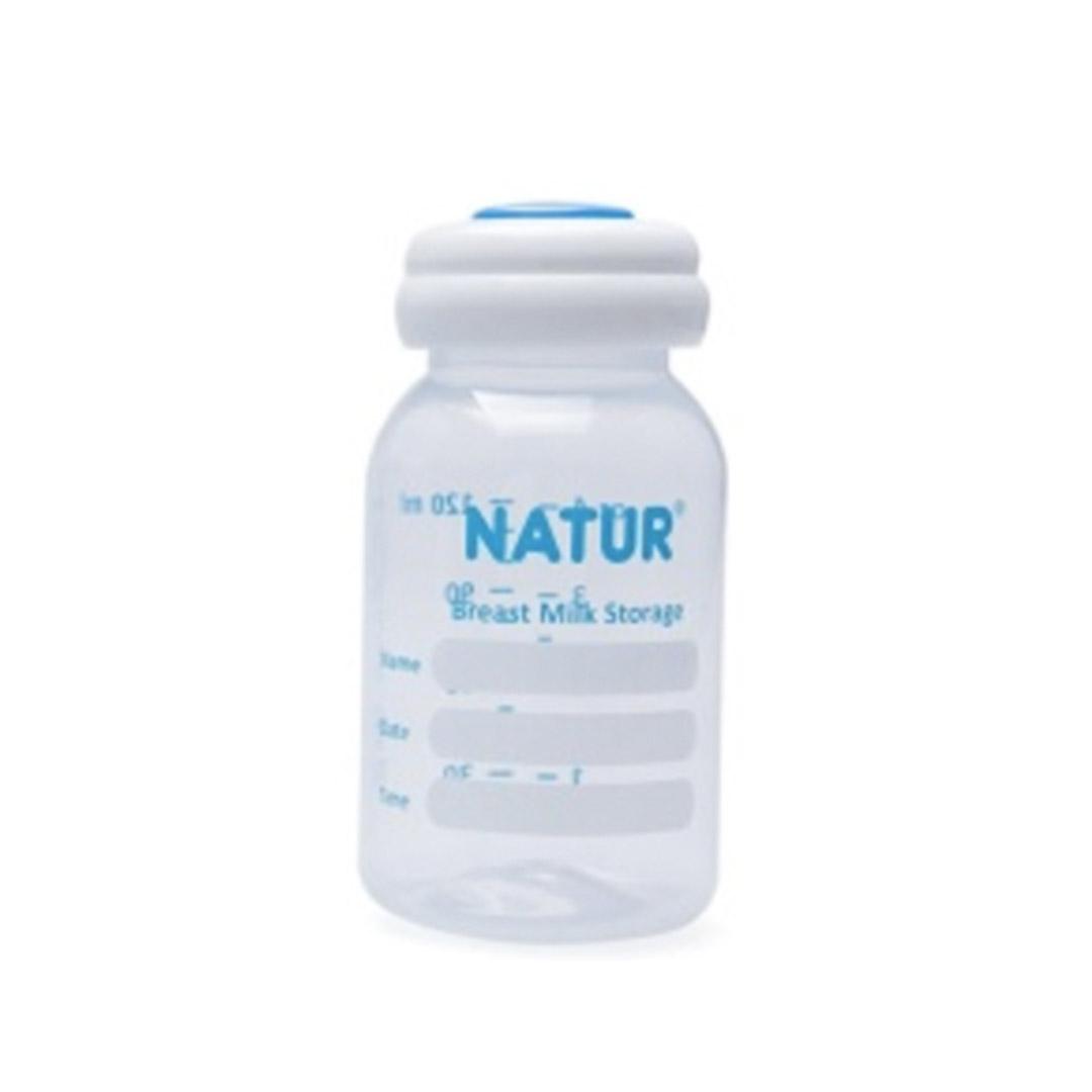 ขวดเก็บน้ำนม Natur ขนาด4oz.