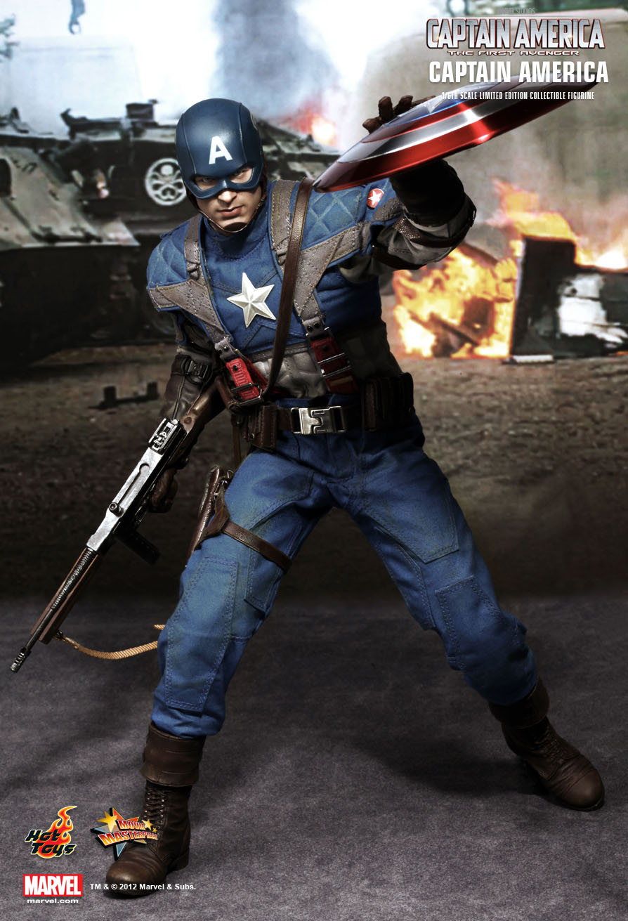 Hot Tots MMS156 CAPTAIN AMERICA: THE FIRST AVENGER - CAPTAIN AMERICA