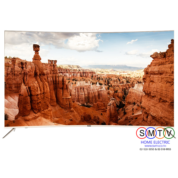Haier LED Smart / UHD / Curve TV 55 นิ้ว รุ่น LE55Q6500U