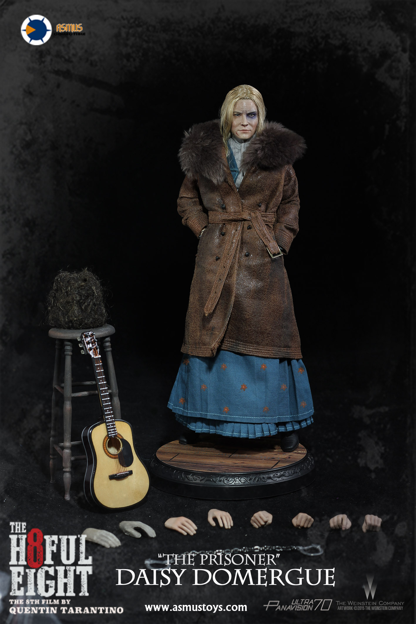 Asmus Toys H803 The Hateful 8 Series - Daisy Domergue