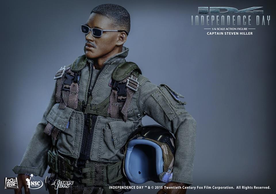 Action Toys ID4 - Captain Steven Hille