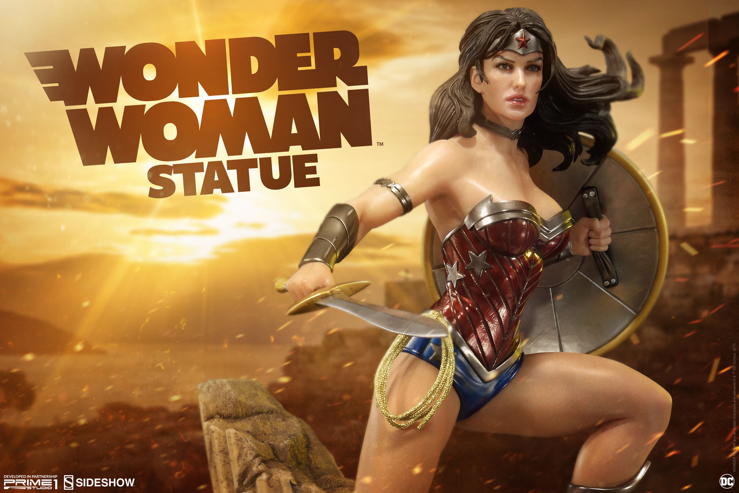 Wonder Woman Statue by Sideshow Collectibles Justice League: New 52