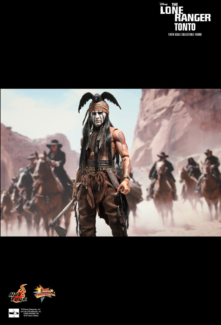HOT TOYS The Lone Ranger: Tonto