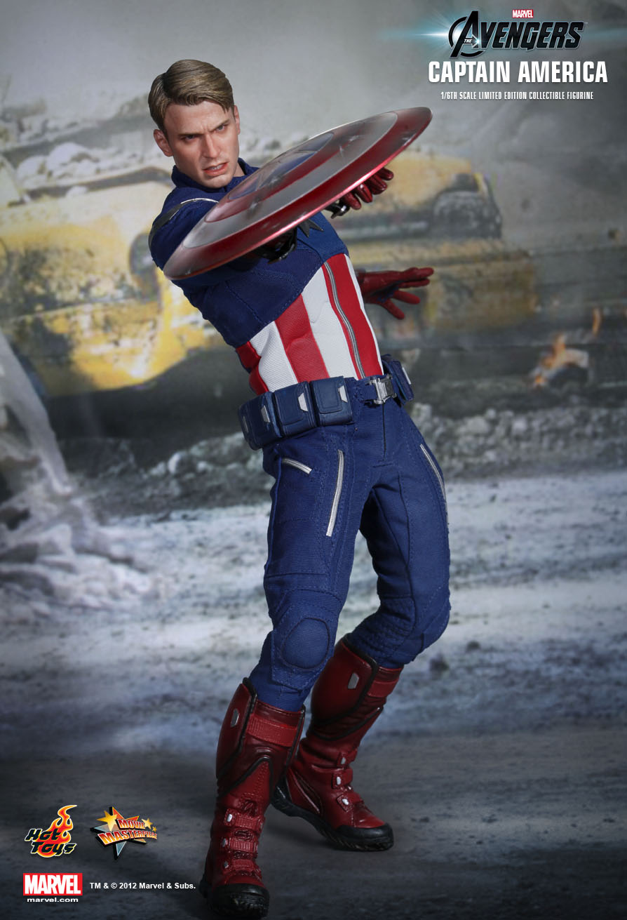 Hot Toys MMS174 THE AVENGERS - CAPTAIN AMERICA