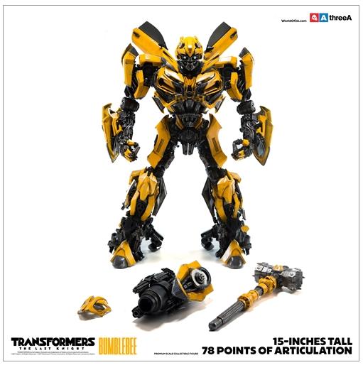 ThreeA x Hasbro Transformers: The Last Knight - Bumblebee