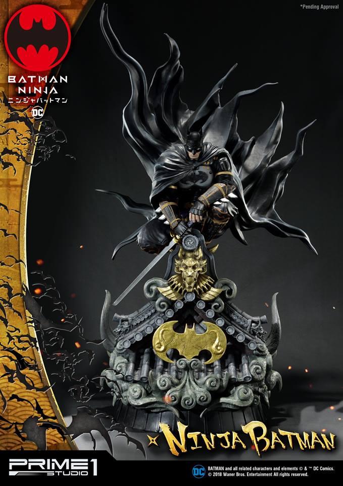 01/04/2018 Prime 1 Studio PMDCNB-01 NINJA BATMAN (BATMAN NINJA)