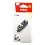 ตลับหมึกแท้ Canon pgi-750 สีดำ Black ราคา 640 บาท