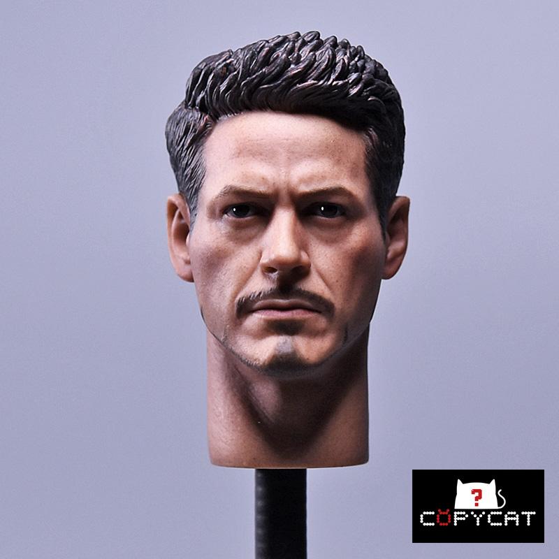 Copycat CCS004 Iron Man Tony headsculpt (mk43 mk45 mk46)