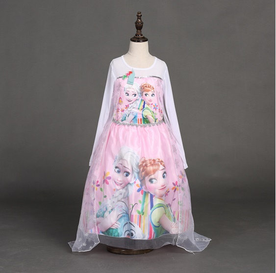 Pre-order ชุดเอลซ่า / Size 140cm / Pink