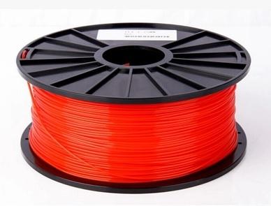 เส้นวัสดุ PLA ม้วนละ 1 กิโลกรัม (สีแดง)