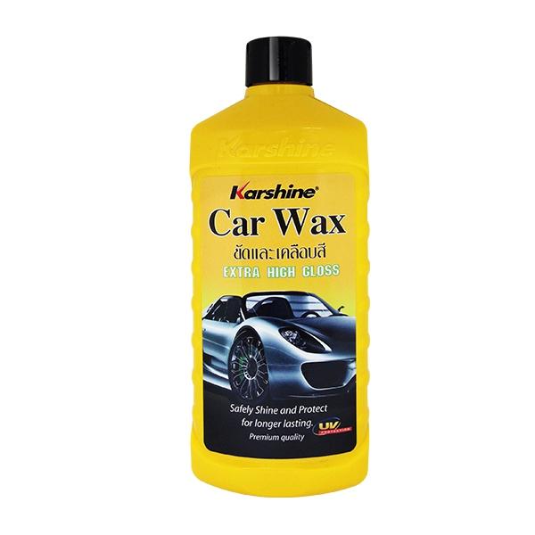 Car Wax คาร์ แว๊กซ์ ผลิตภัณฑ์น้ำยาเคลือบสีรถยนต์ ขนาด 475 มล.