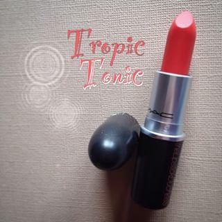 **พร้อมส่ง**M.A.C Matte Lipstick # Tropic Tonic สีส้มสวยกำลังดี ใช้ได้ทุกสีผิว เนื้อแมทด้านๆ สีสวยชัดเจน ติดทนนานทั้งวันเลยคะ ,