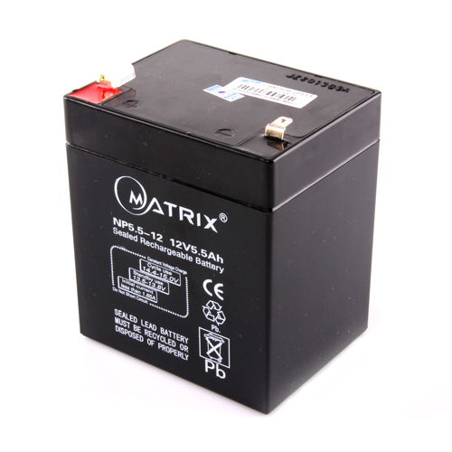 "Batt. 5.5Ah, 12V ""Matrix"""