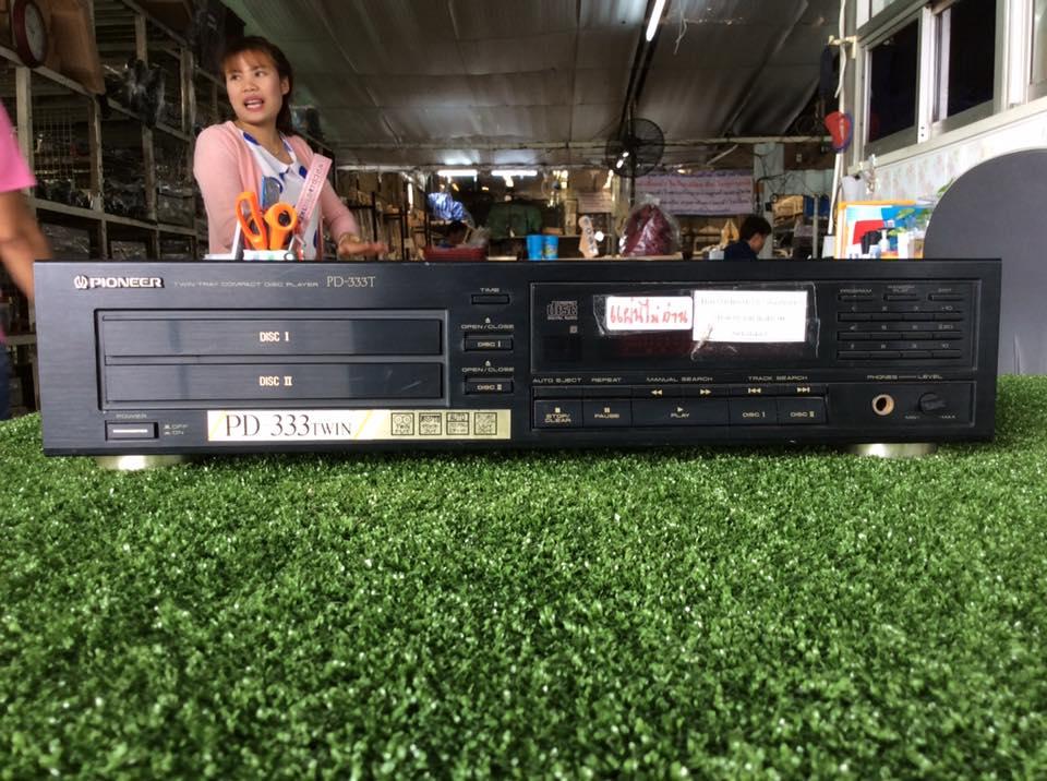 เครื่องเล่น CD PIONEER PD-333T สินค้าไม่พร้อมใช้งาน (ต้องซ่อม)