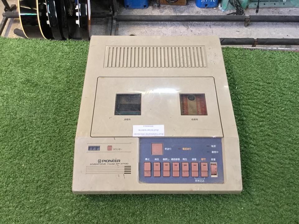 วิทยุ FM AM PIONEER AF-4700 สินค้าไม่พร้อมใช้งาน (ต้องซ่อม)