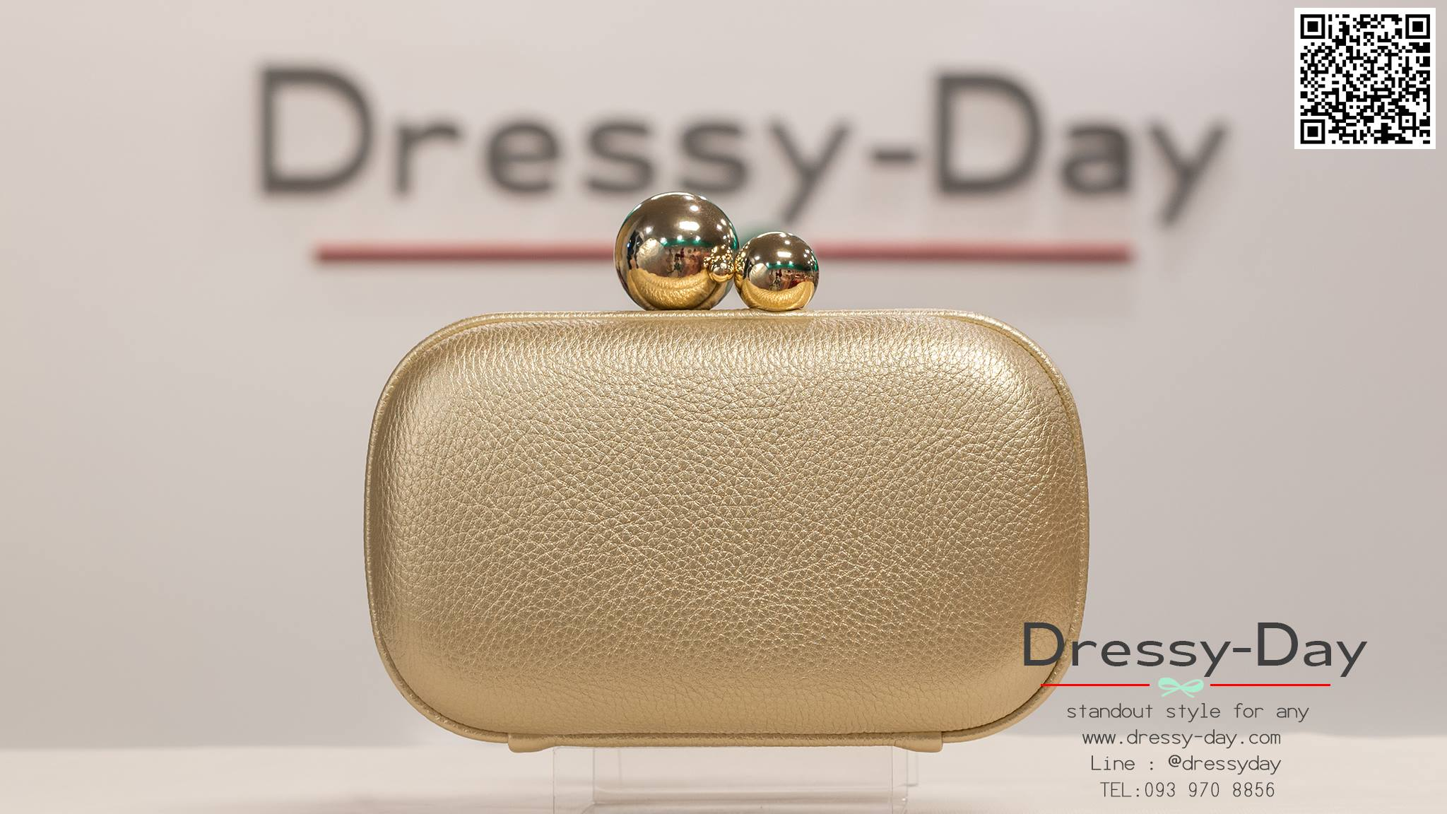 กระเป๋าออกงาน TE035 : กระเป๋าออกงาน พร้อมส่ง สีทอง สวยเก๋แบบไม่ซ้ำใคร ใช้สะพายออกงานเช้า กลางวัน หรือถือไปงานกลางคืน ออกเดท สวยหรูดูดีที่สุด