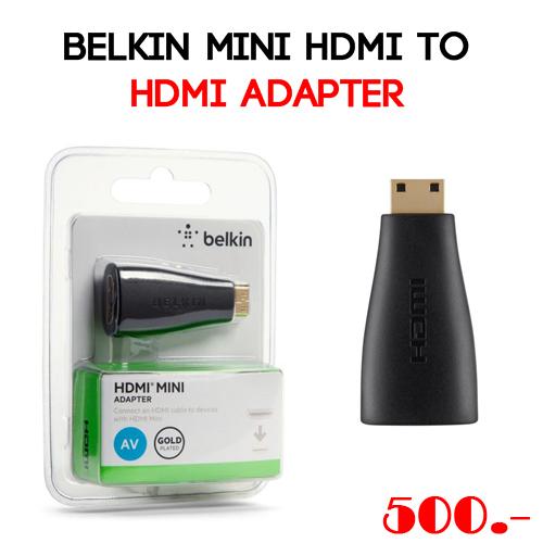 Belkin Mini HDMI to HDMI Adapter