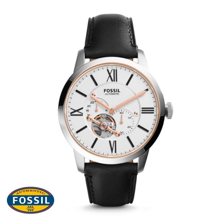 นาฬิกา FOSSIL ME3104 Men Watch Automatic Movement Leather Strap 44 mm