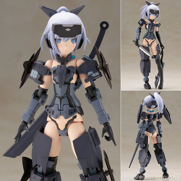 Frame Arms Girl - Jinrai Indigo Ver. Plastic Model(Pre-order)