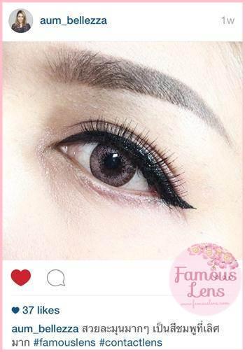 dali extra pink contact lens