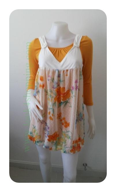 """Dress0781--เดรสแฟชั่น สวยๆ """"อก 33 นิ้ว"""""""